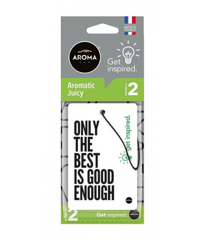Aroma Car Ambientador Auto Get INSPIRED Aromatic Juice 1un
