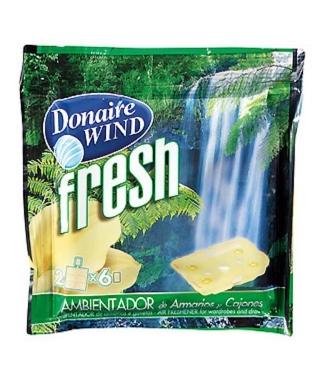 Donaire Ambientador Wind Fresh Armários Gavetas 2un