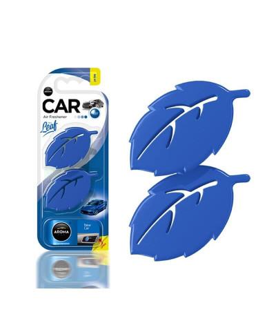 Aroma Car Ambientador Auto Leaf New Car 2un