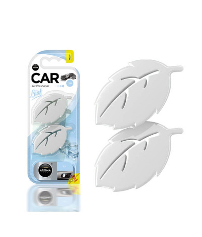Aroma Car Ambientador Auto Leaf Ice 2un