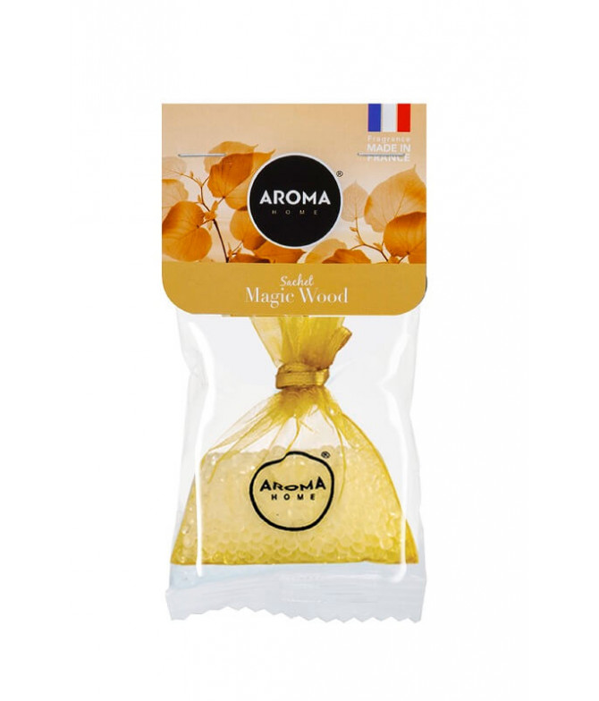 Aroma Home Ambientador Sachet Magic Wood 1un
