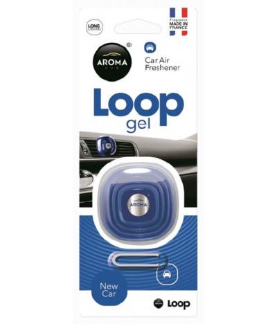 Aroma Car Ambientador Auto Loop Gel New Car 1un T