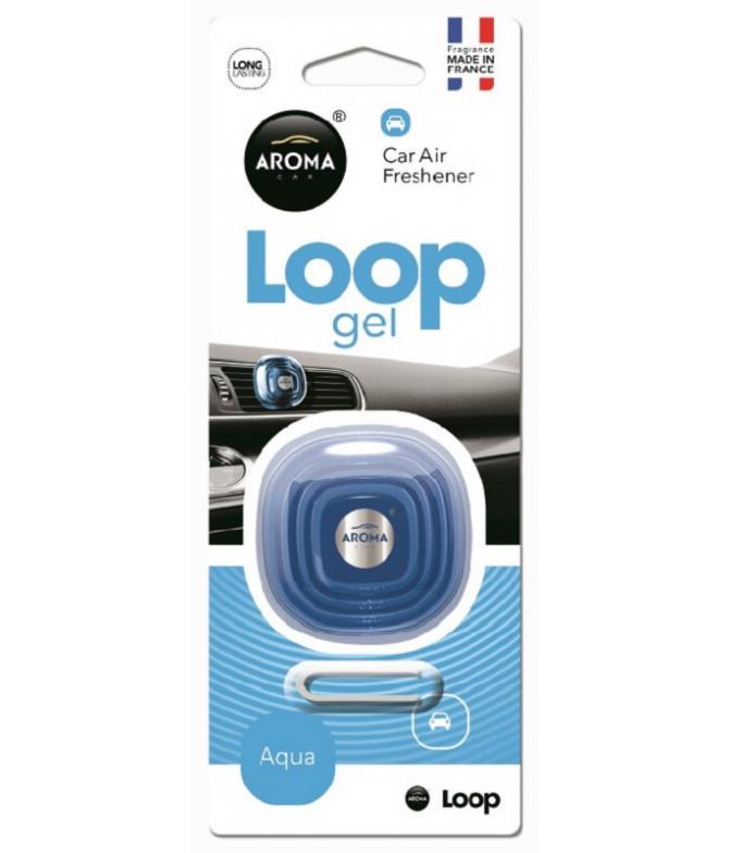 Aroma Car Ambientador Auto Loop Gel Aqua 1un T