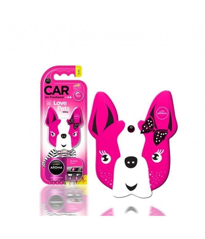 Aroma Car Ambientador Auto Dog Pink Blossom 1un T