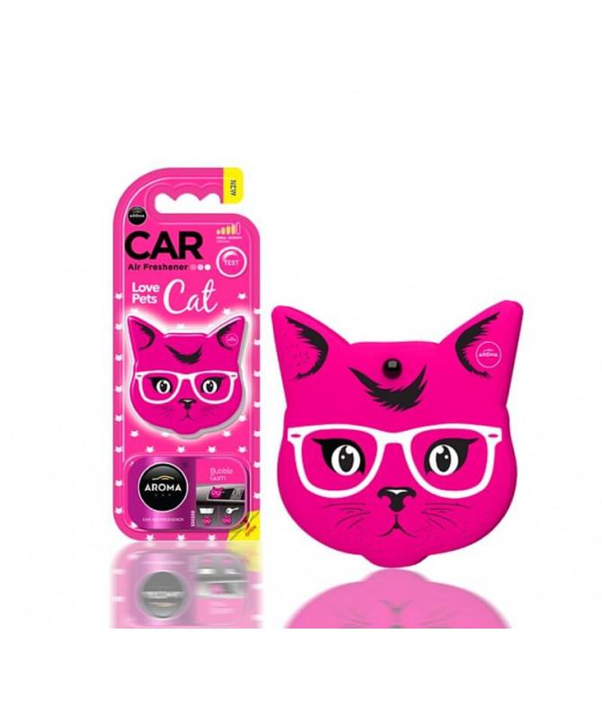 Aroma Car Ambientador Auto Cat Pink Blossom 1un