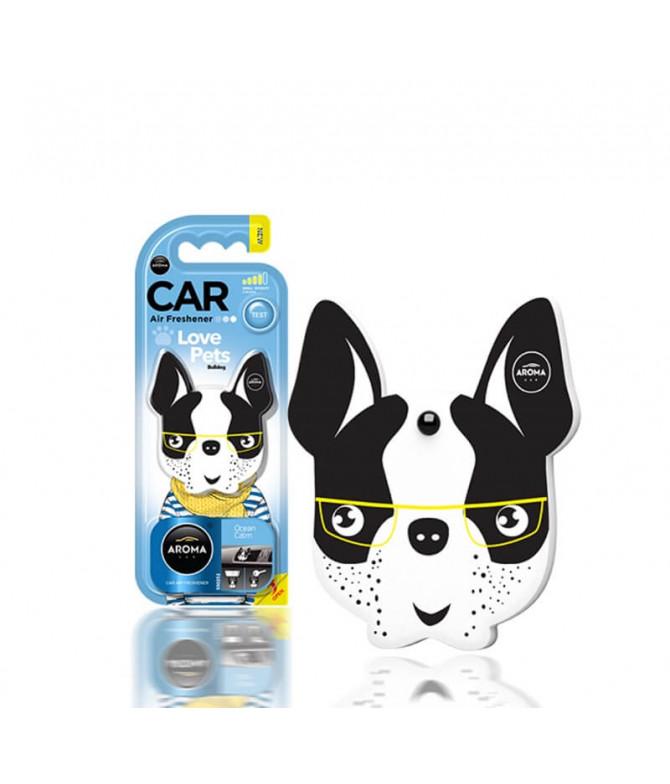 Aroma Car Ambientador Auto Dog Ocean Calm 1un T
