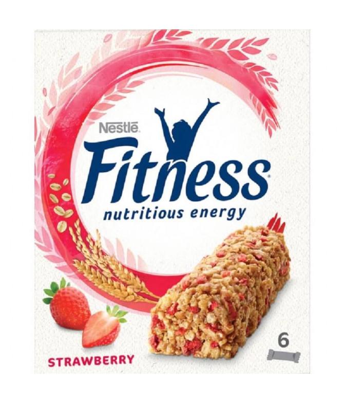 Nestlé Fitness Barrita Morango 6un