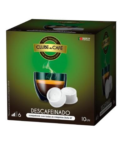 Descafeinado 100% Delta Q - Clube do Café 10 cps Bicafé