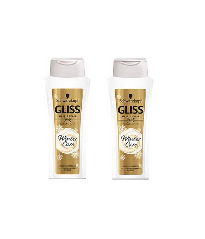 PACK 2 Gliss Champú Winter Care 250ml T