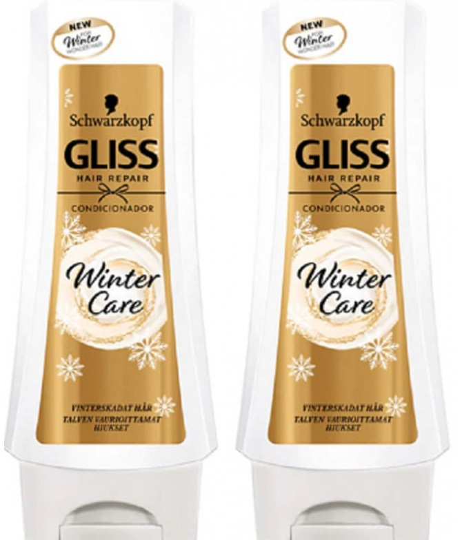PACK 2 Gliss Condicionador Winter Care 250ml