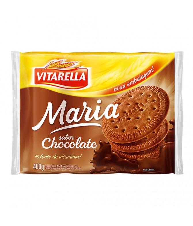 Vitarella Bolacha Maria Chocolate 400gr