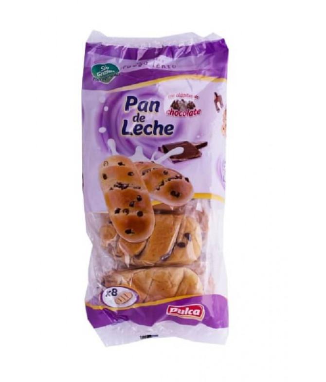 Dulca Pão de Leite Pepitas Chocolate 8un