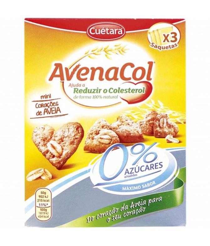 Avenacol Galletas Mini Corazones Avena 150gr T