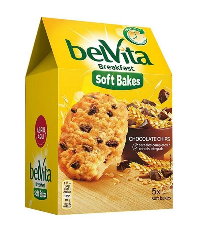 Belvita Soft Bakes Bolacha Pepitas Choco 250gr