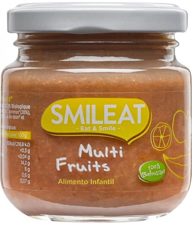 Smileat Boião Multi-frutos BIO 130gr