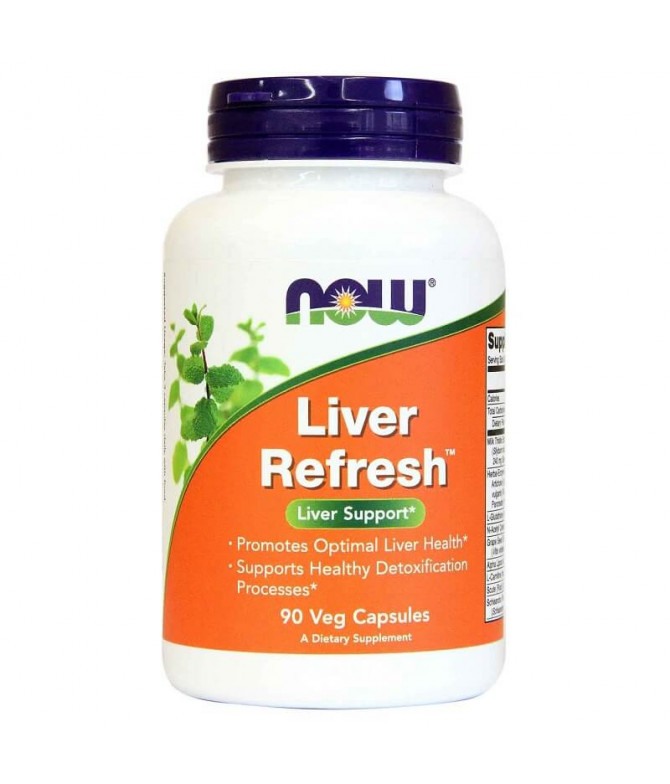 Now Liver Refresh SISTEMA DIGESTIVO 90un