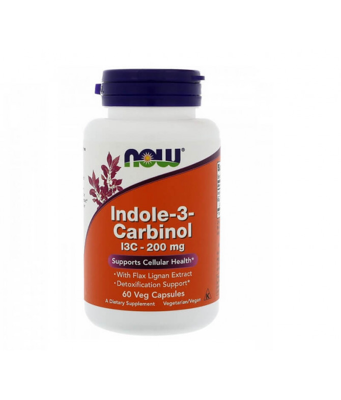 Now Indole-3-Carbinol SIST IMUNITÁRIO 60un