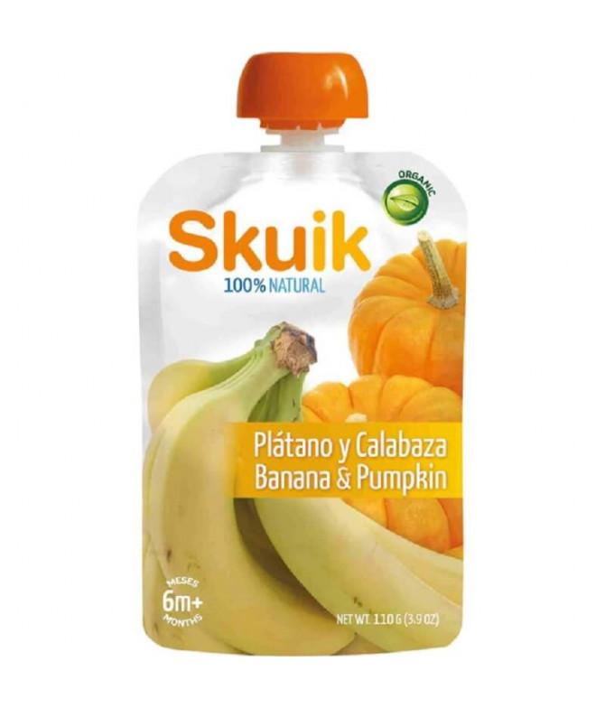 Skuik Plátano & Calabaza 110gr T