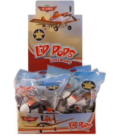 Piruleta Lip Pops Planes 1 UNIDADE