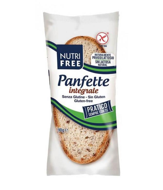 Nutrifree Pan Rústico Multicereales Rebanadas 80gr T