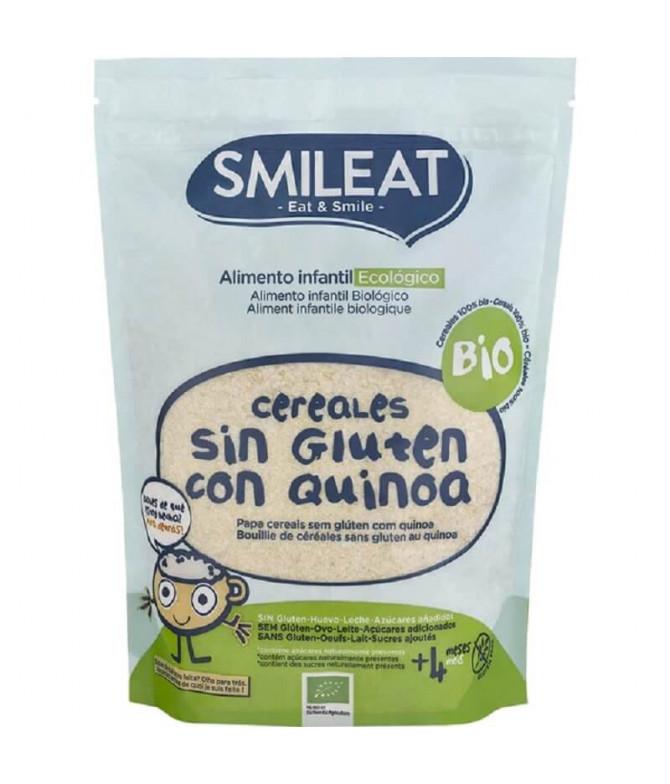 Smileat Papilla Cereales & Quinoa Sin Gluten 200gr T
