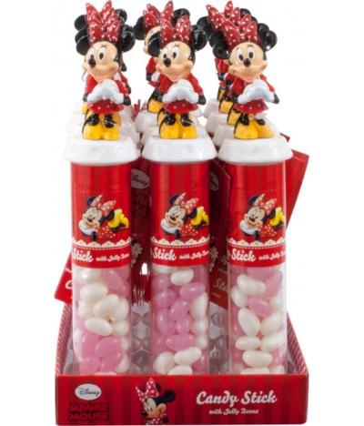 Caramelos Candy Stick Minnie 1 UNIDADE x 50gr