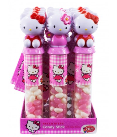 Caramelos Candy Stick Hello Kitty 1 UNIDADE x 50gr