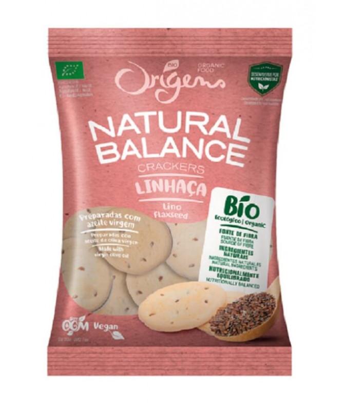 Origens Bio Bolacha Natural Balance Linhaça 150gr