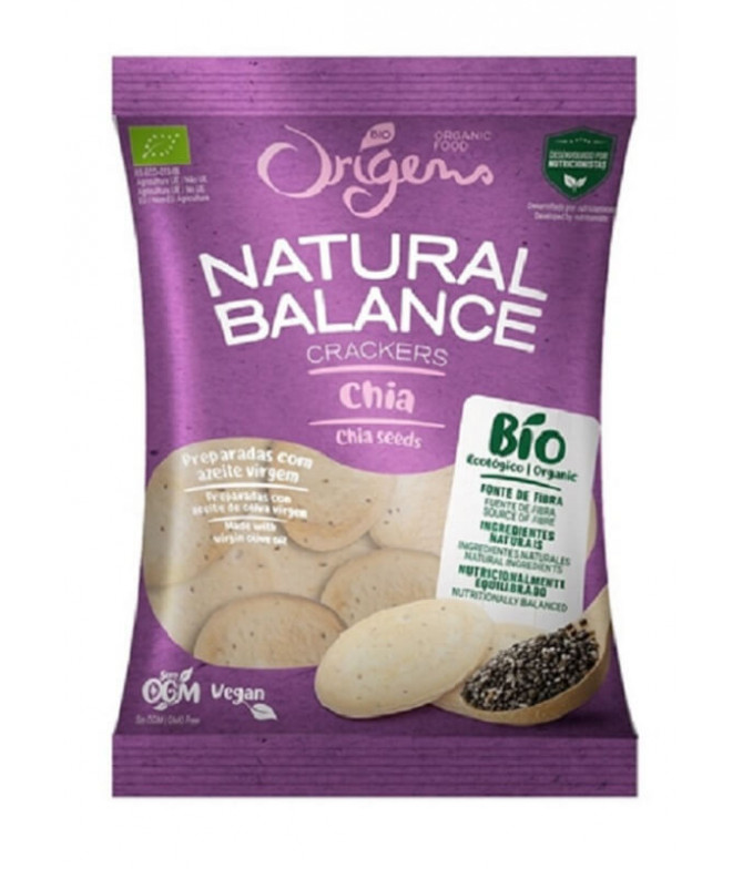 Origens Bio Galletas Natural Balance Chía 150gr T