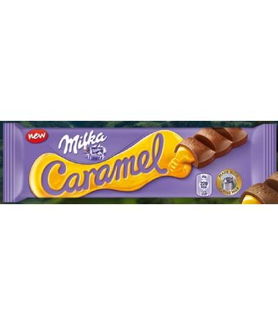 Chocolate de Leite com Caramelo Milka 45gr