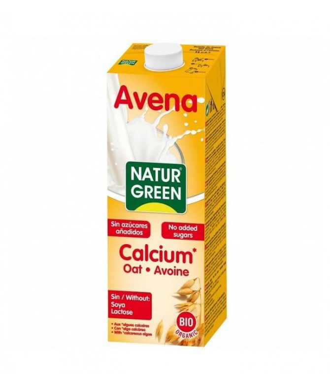 Naturgreen Bebida Aveia Cálcio BIO 1L