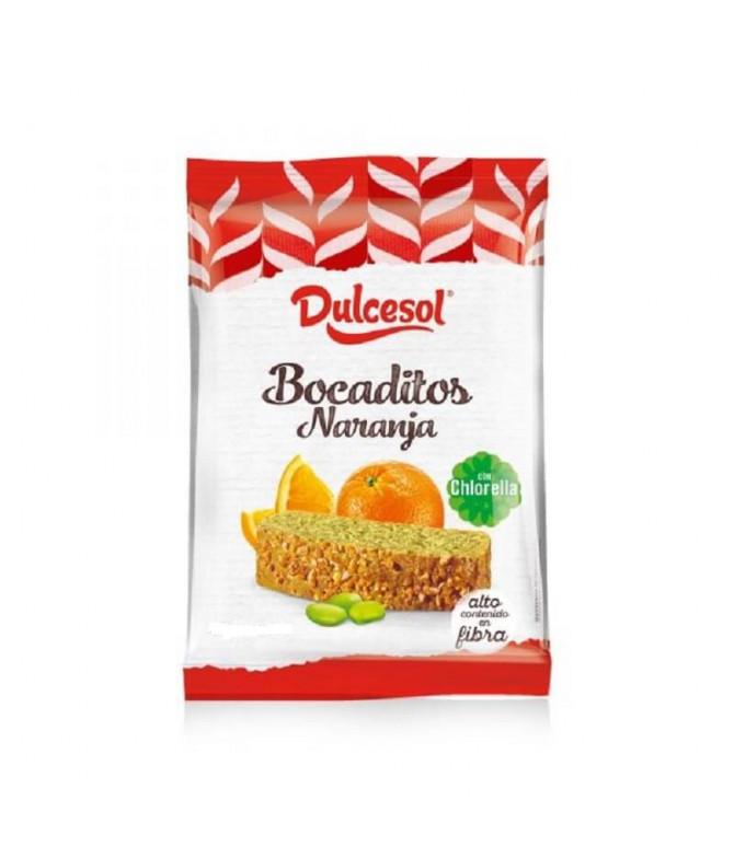 Dulcesol Bocadito Naranja Chlorella 70gr T