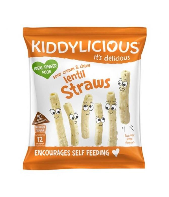 Kiddylicious Galleta Lenteja Sour Cream & Cebollino 12gr T