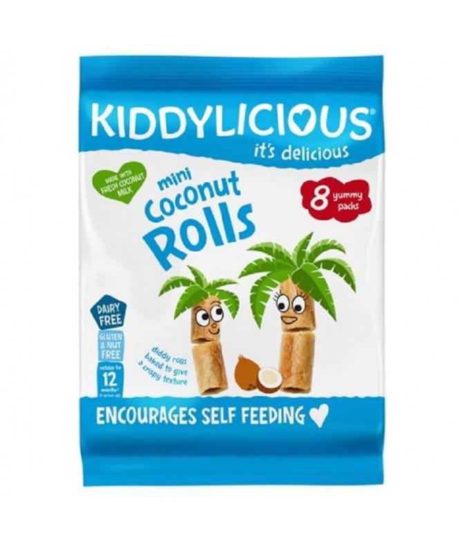 Kiddylicious Mini Rolls Coco 54gr T