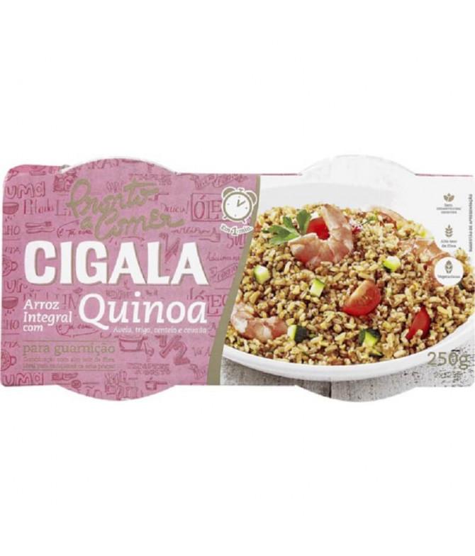 Cigala Listo a Comer Arroz Integral Quinua 250gr T