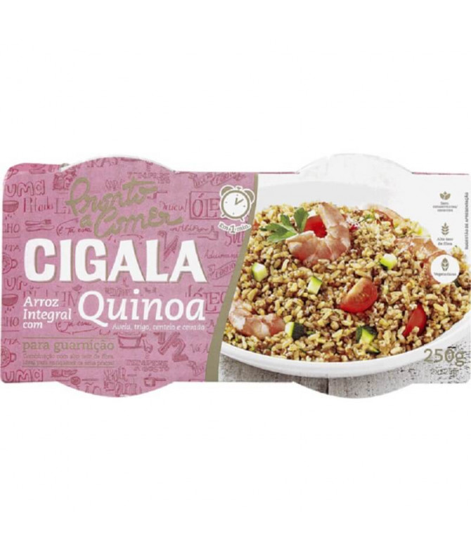 Cigala Pronto a Comer Arroz Integral Quinoa 250gr