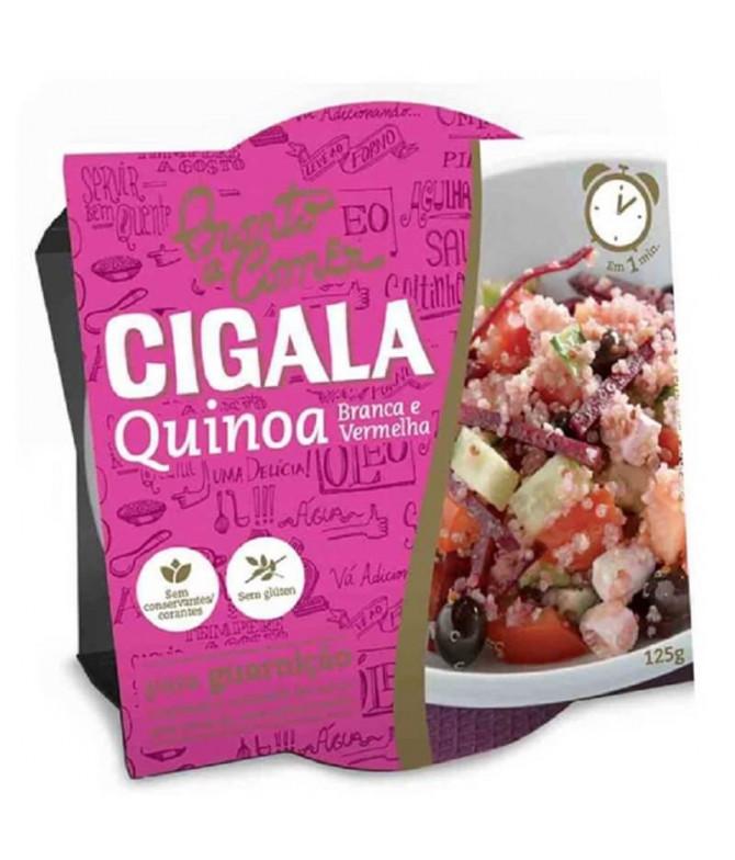 Cigala Pronto a Comer Quinoa Branca & Vermelha 125gr