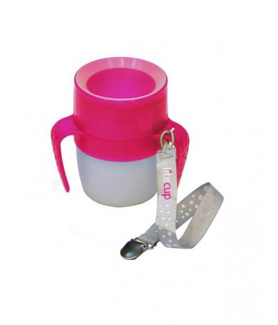 Litecup Baby Vaso con Luz ROSA 200ml T