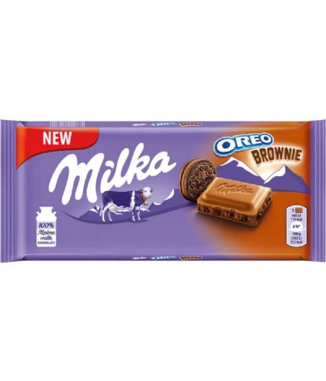 Milka Chocolate Oreo Brownie 100gr