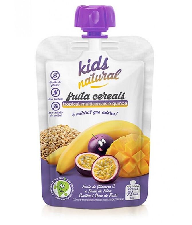 Snack Fruta Tropical Multicereales Quinoa 100gr T