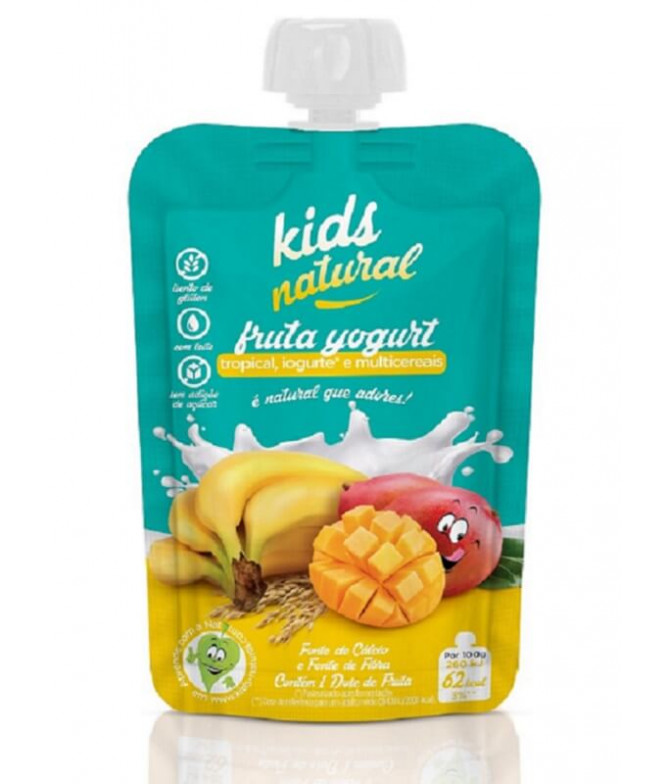 Snack Fruta Tropical Yogur Multicereales 100gr T