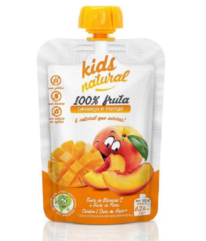 Snack Fruta Melocotón Mango 100gr T
