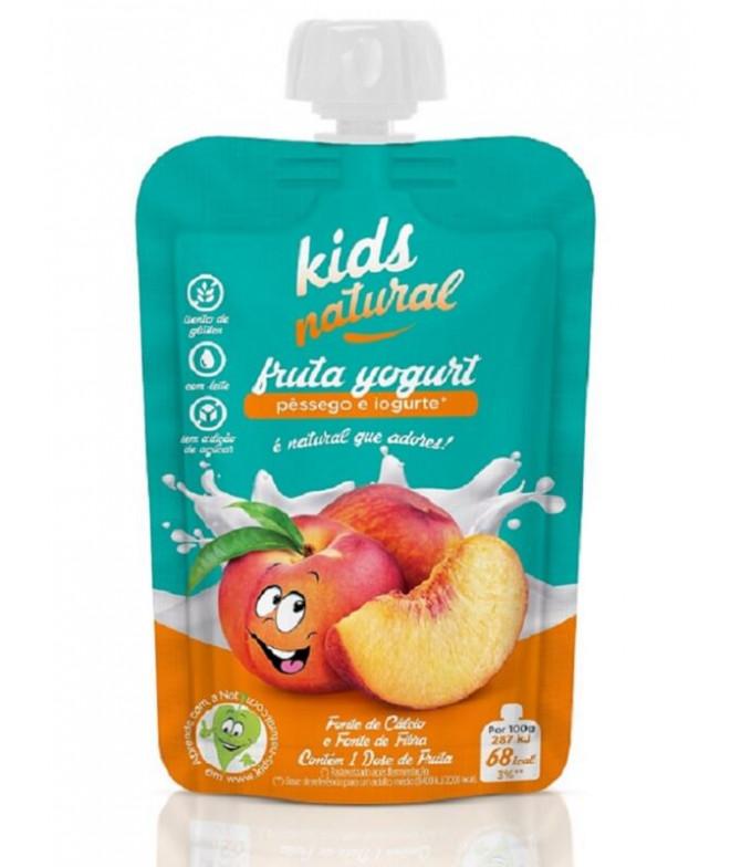Snack Fruta Pêssego Iogurte 100gr