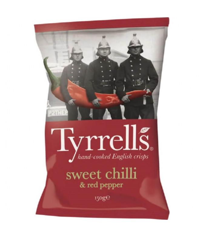 Tyrrells Chips Chilli Pimienta Roja 150gr T