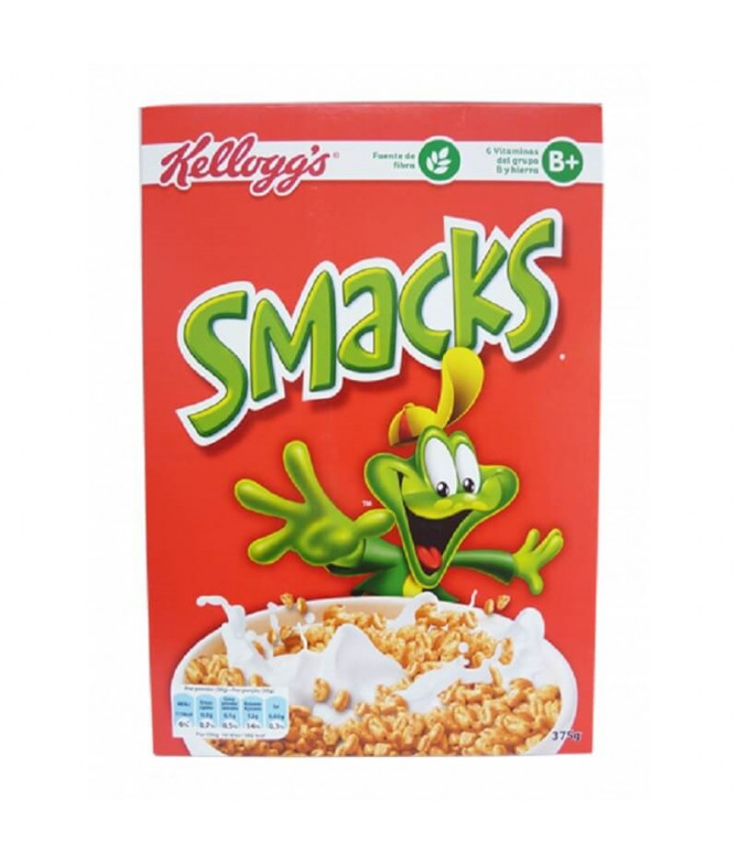 Kelloggs Cereales Smacks 375gr T
