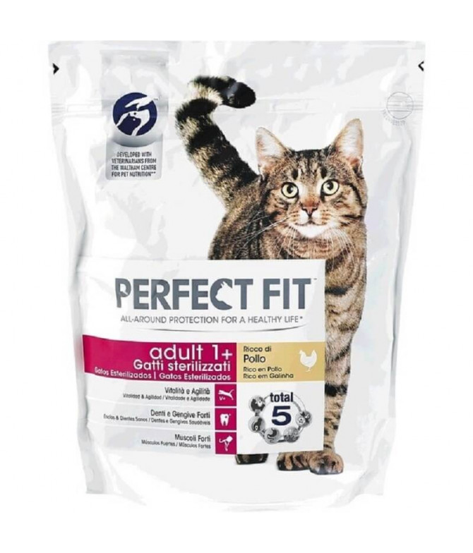 Perfect Fit Ração Gato Adulto 750gr