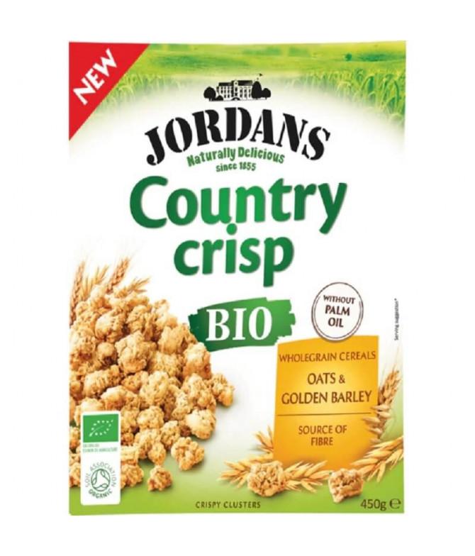 Jordans Country Crisp Cereales Avena & Cebada BIO 450gr T