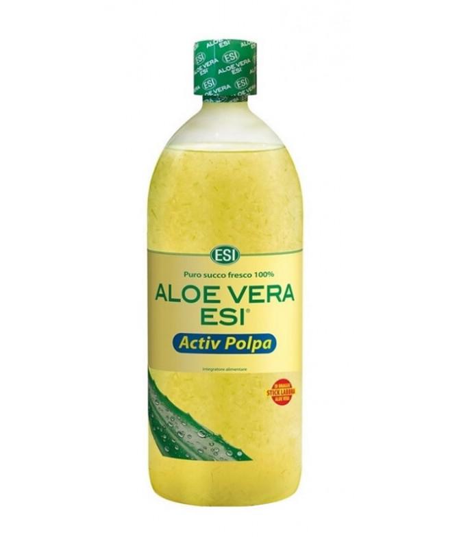 ESI Aloe Vera Zumo Activ Pulpa Natural 1L T