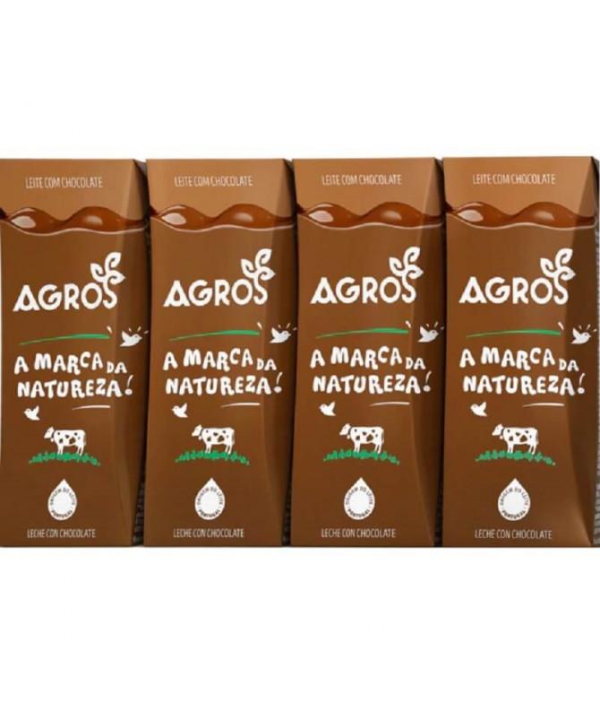 Agros Batido Chocolate 4x200ml T