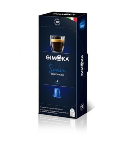 Gimoka Café Soave DESCAFEINADO para Nespresso 10un T